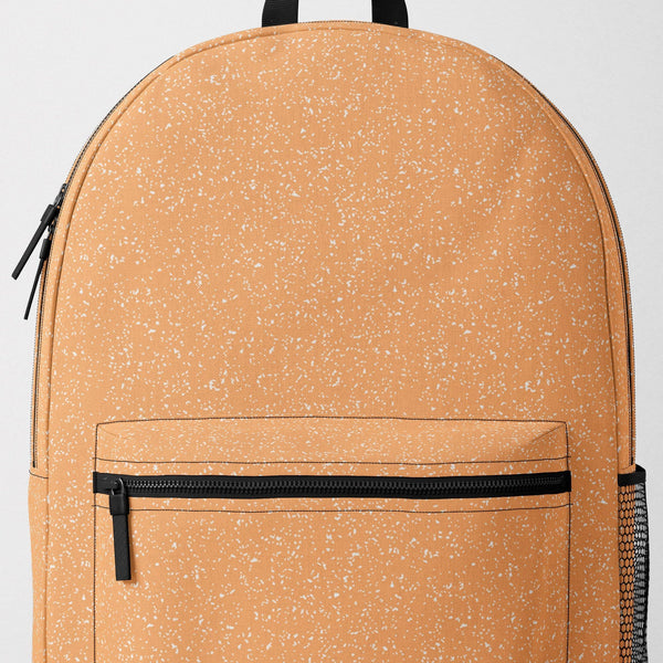 Orange Speckle Backpack