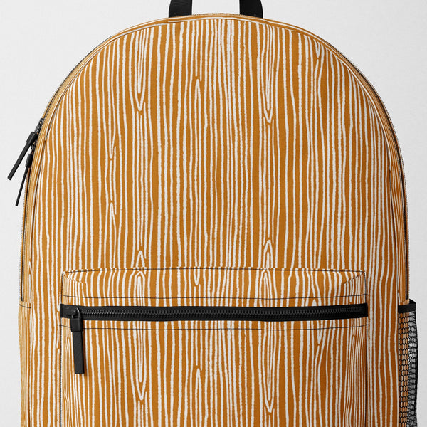 Wood Grain Backpack