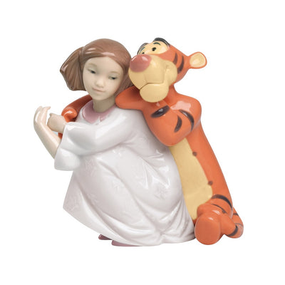 Nao by Lladro Hugs With Tigger Figurine