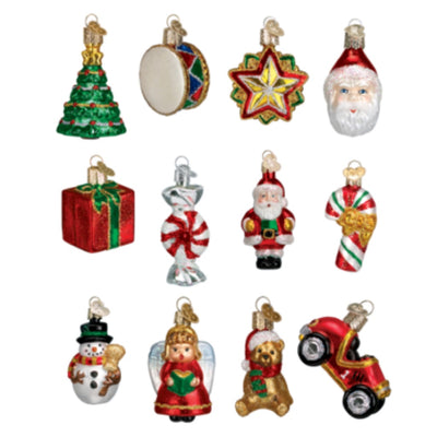 Old World Christmas Mini 12 Piece Ornament Set