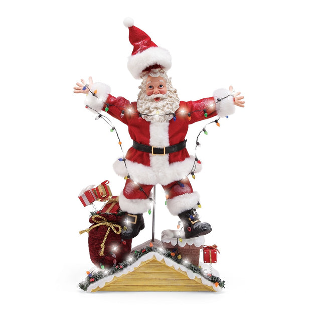 Possible Dreams Clothtique National Lampoon Christmas Santa Figurine