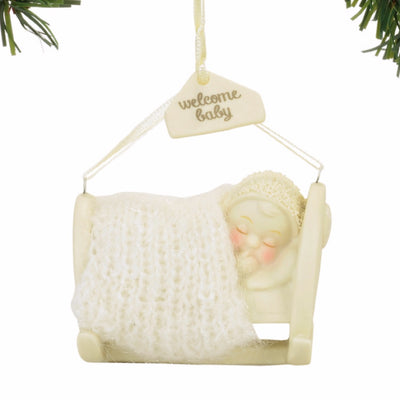 Snowbabies Welcome Baby Ornament