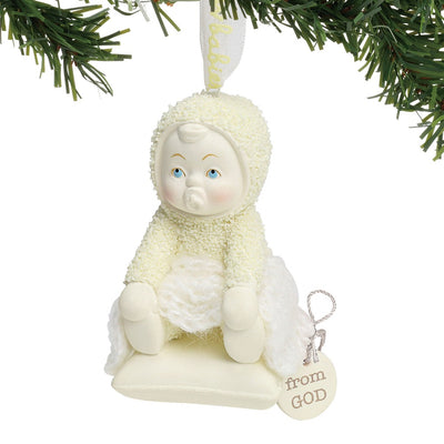 Snowbabies From God Christmas Ornament