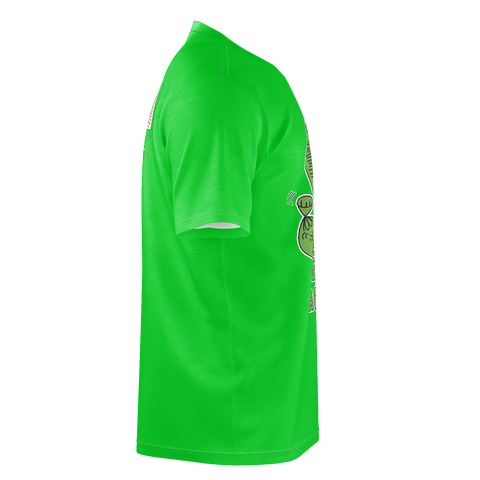 Paper Stacker, T-Shirt, Kelly Green