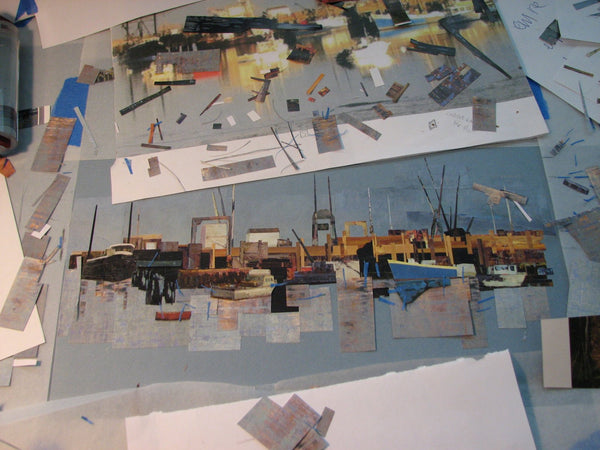 Susan Anthony: The making of a collage