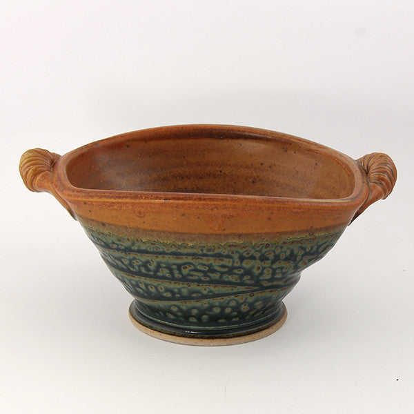 Handled rectangle bowl