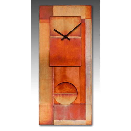 Copper  Clad Pendulum Clock