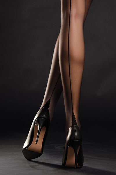 Fiore Sensual Diva Seamed Stockings - Mayfair Stockings
