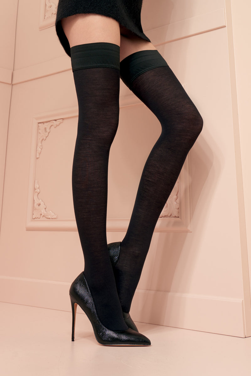 Trasparenze Jennifer Merino Wool Hold Ups