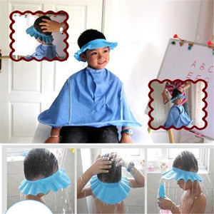 Safe Shampoo Shower Bathing  Soft Cap