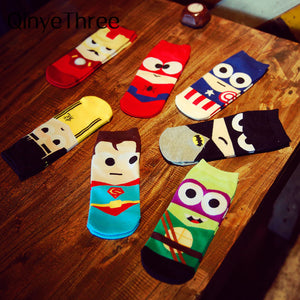 Socks Hip Hop Ninja Batman Superman
