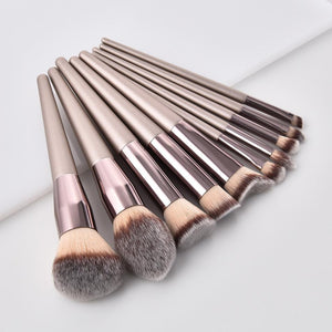 Women's Fashion Brushes Wooden Foundation