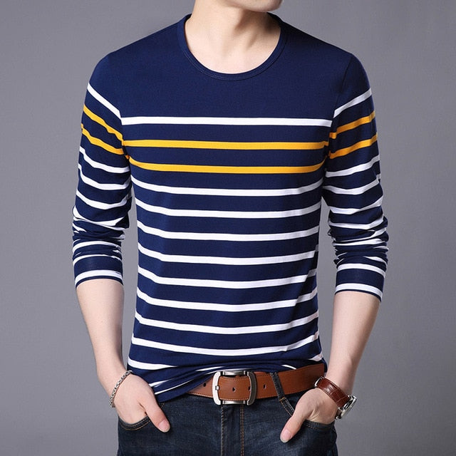 T-Shirts Mens Cotton Tops Street Style