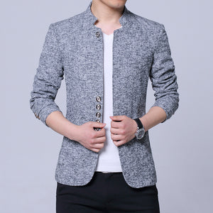 Cultivate one's morality coat collar suit