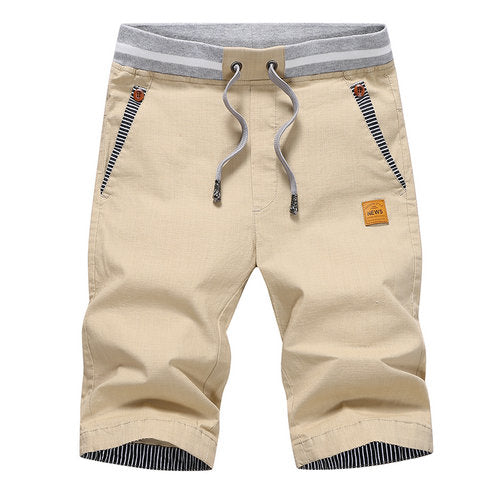 summer solid casual shorts men cargo