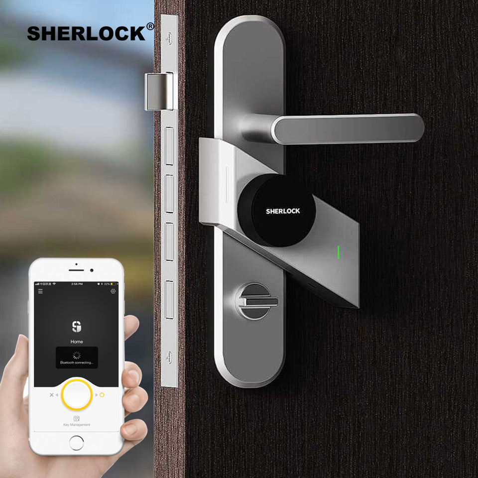 Smart Door Lock Home Keyless Lock Fingerprint
