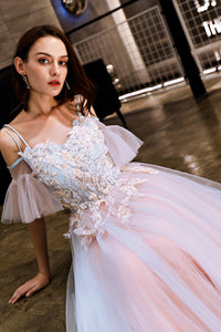 Evening Dress Off Shoulder Tulle Long Dress Elegant