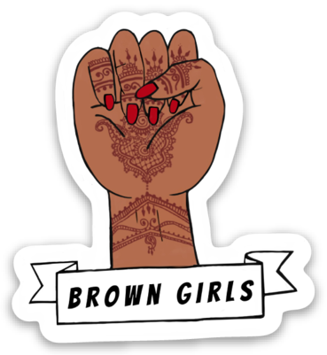 Long Live Brown Girls - Sticker