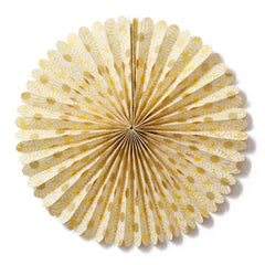 Large Lokta Paper Rosette - Yellow and White Daisy