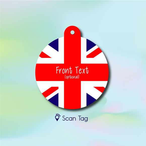 Union Jack - Pet ID Tag