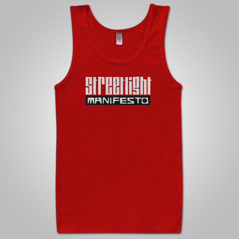 "Streetlight Manifesto ""Logo Tank"" Tank Top (Red)"