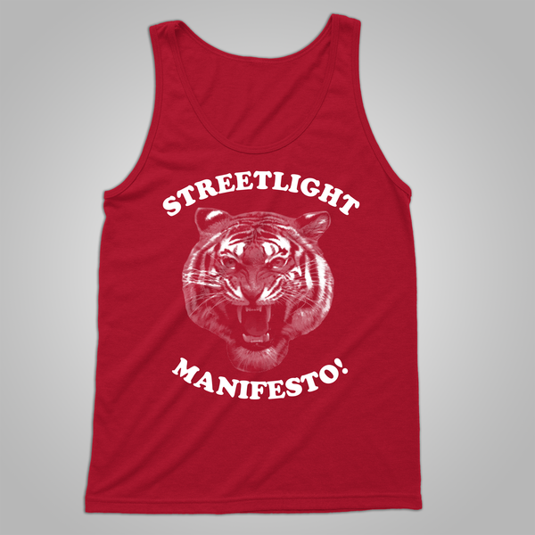 "Streetlight Manifesto ""Tiger"" Tank (Red)"