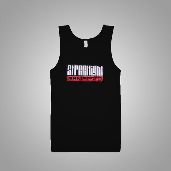 "Streetlight Manifesto ""Logo"" Tank Top (Black)"