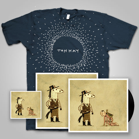 "Toh Kay / Sycamore Smith ""You By Me: Vol 2"" CD/LP/T-Shirt/Signed Poster Bundle"