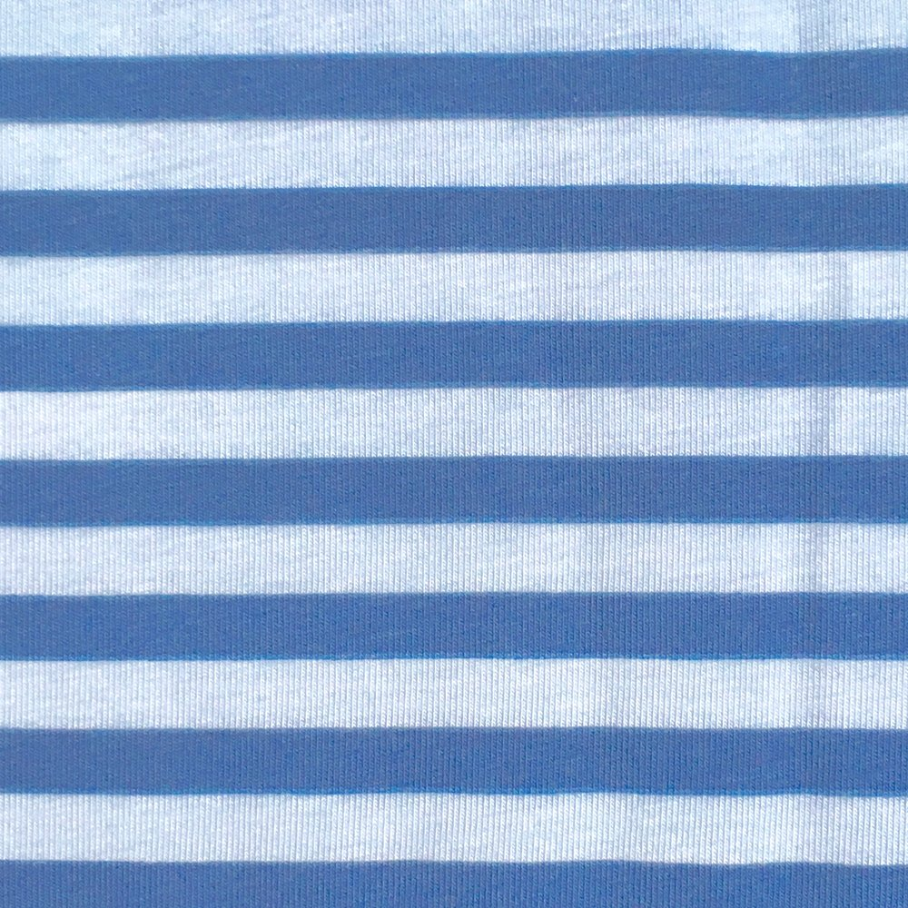 Striped Blake Jersey Knit, Blue and pale blue - Lakes Makerie - Minneapolis, MN