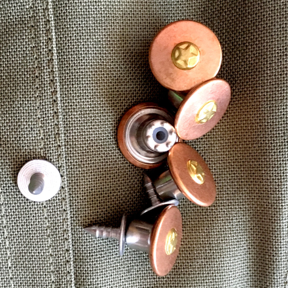 Copper Jeans Buttons - Lakes Makerie - Minneapolis, MN