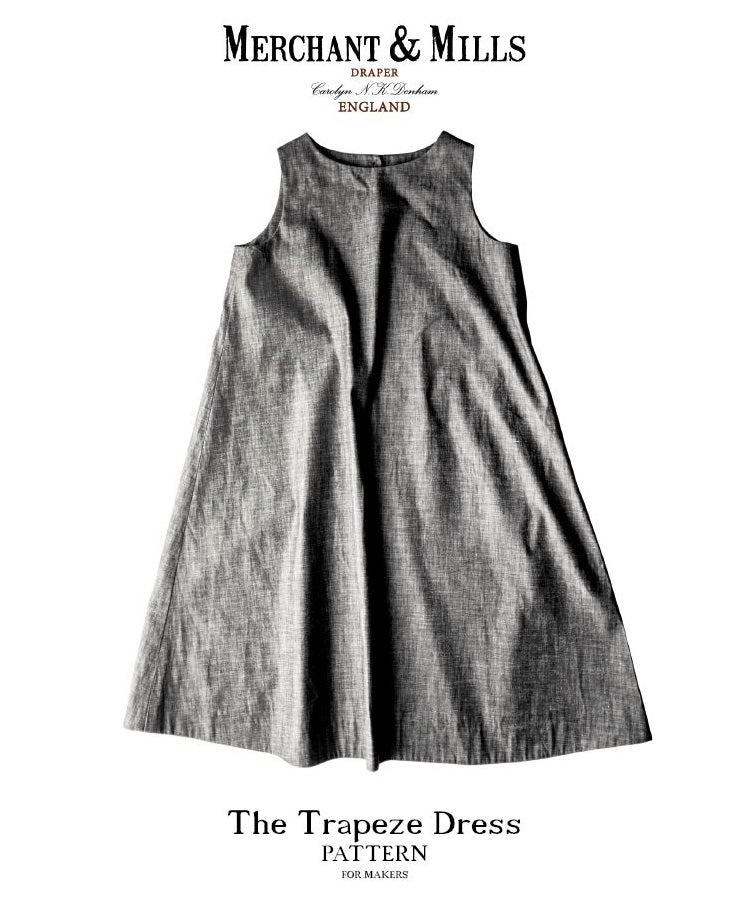 Merchant & Mills, The (Updated) Trapeze Dress Pattern - Lakes Makerie - Minneapolis, MN