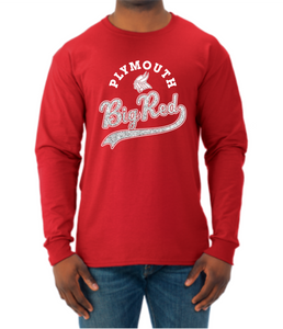 Big Red Sparkle Tail Longsleeve