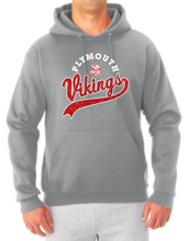 Load image into Gallery viewer, Vikings Sparkle Tail Hooded Sweatshirt