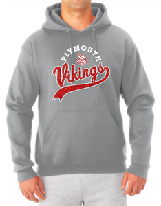Vikings Sparkle Tail Hooded Sweatshirt