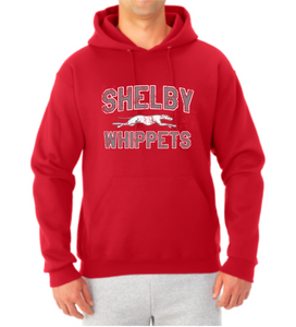Shelby Whippet SW Dog Hooded Sweatshirt