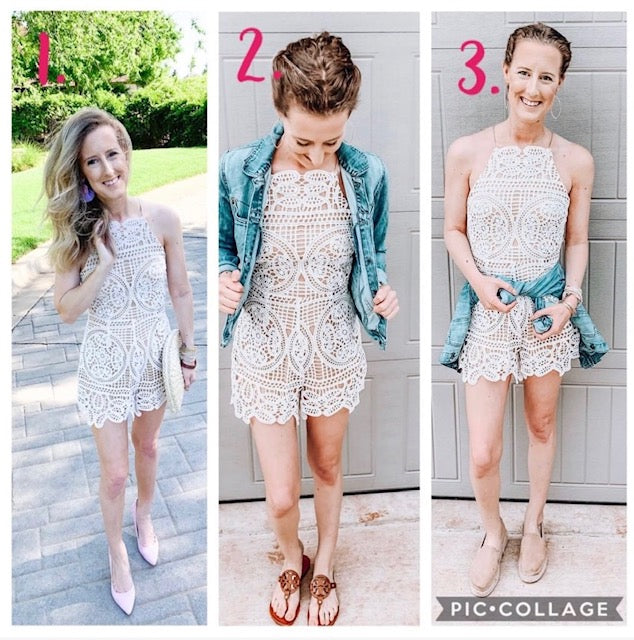 3 Different Ways to Style a Romper