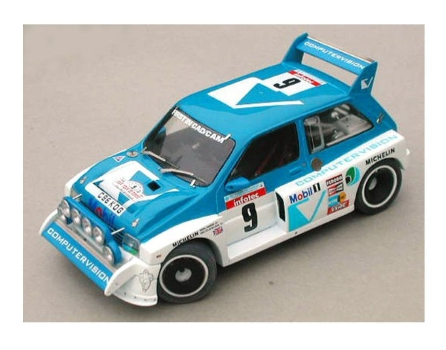 6R4 TT02 10th Rally Body 190MM