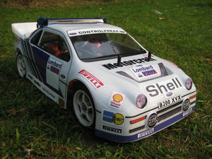 Ford LL200 TT02 10th Rally Body 190MM
