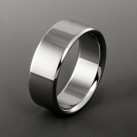 Titanium Band - Flat Profile