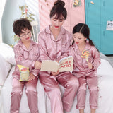 Mother Kids Family Matching Pajamas