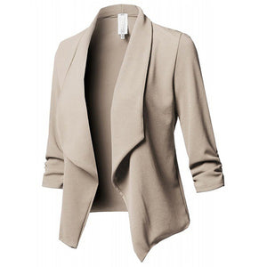 Slim Ladies Blazer Casual Cardigan