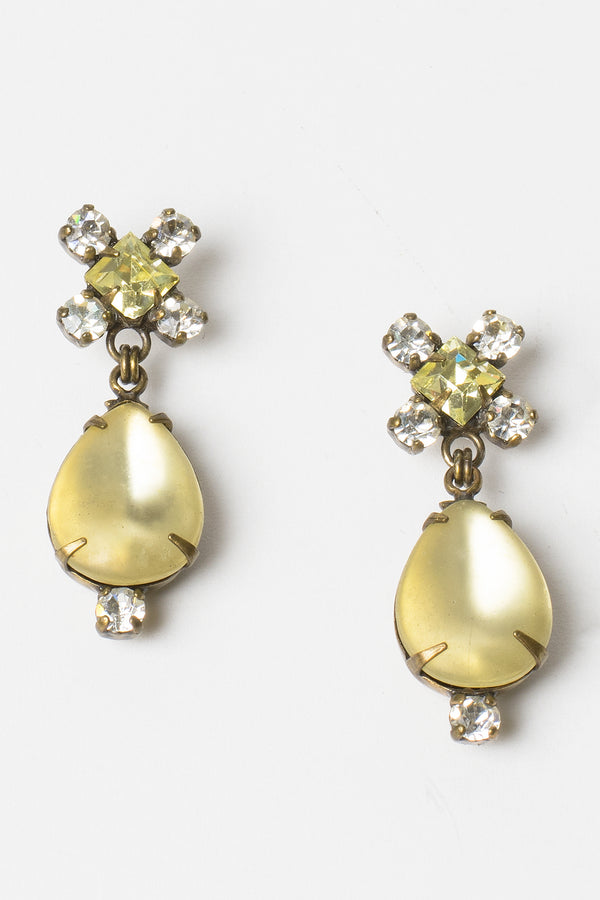De Luxe Teardrop Jewel Earrings