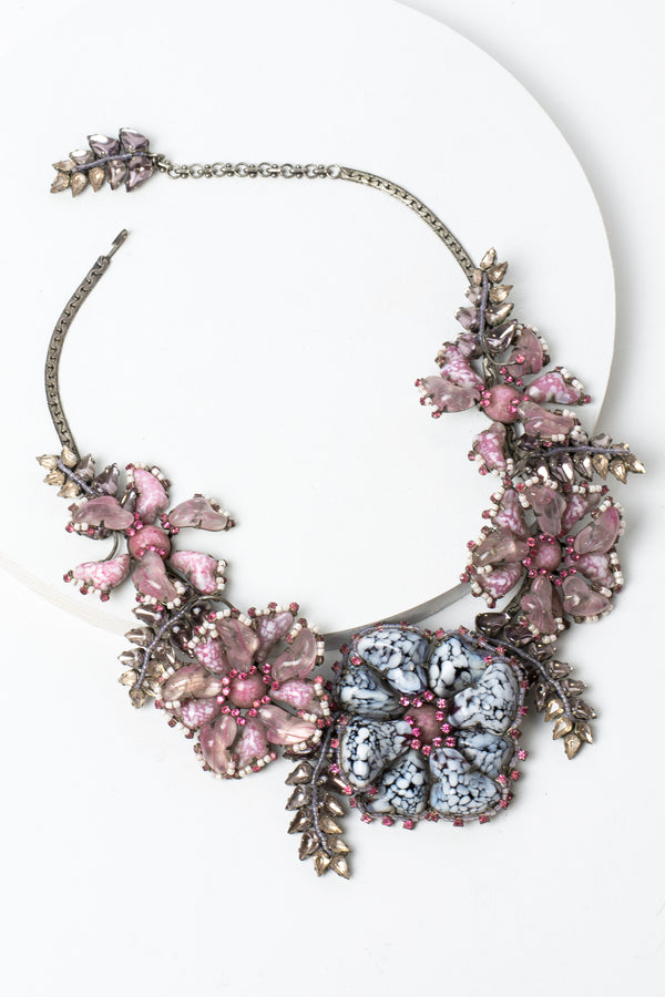Aloha Flower Statement Necklace