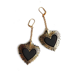 Rosita Bonita Sacred Heart Earrings