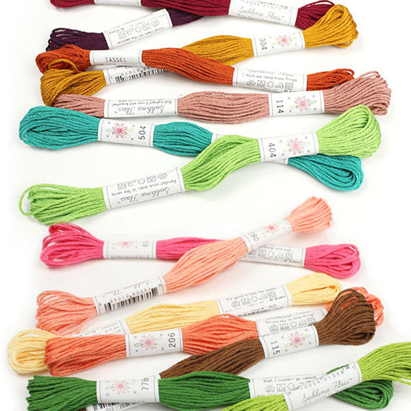 All 70 Colors Sublime Embroidery Floss™