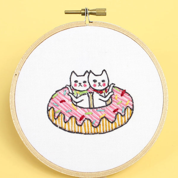 SMALL PACK Embroidery Patterns -  NAOSHI