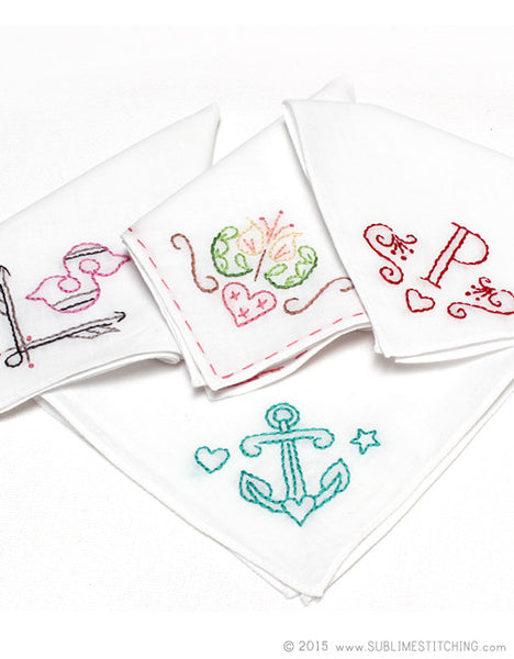 White Handkerchiefs for Embroidery