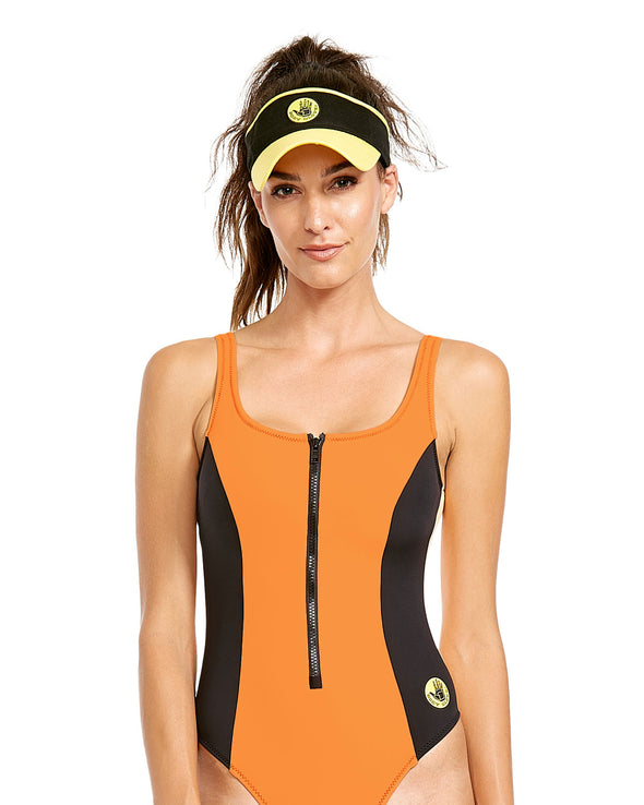 '80s Throwback Time After Time One-Piece Swimsuit - Mango