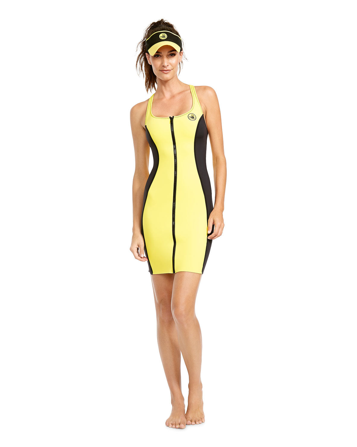 '80s Throwback Simply Irresistible Dress - Yellow