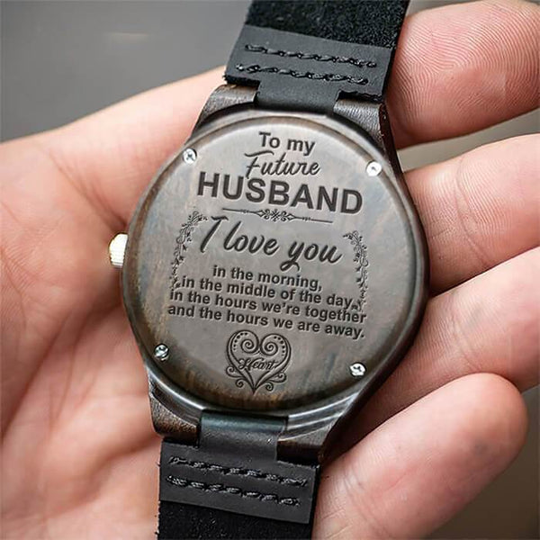 To My Future Husband - Wood Watch - WH-DF20B28